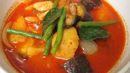 Khmer Red Curry: Cà ri đỏ