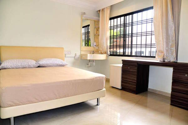 Phòng common homestay Singapore Orchard