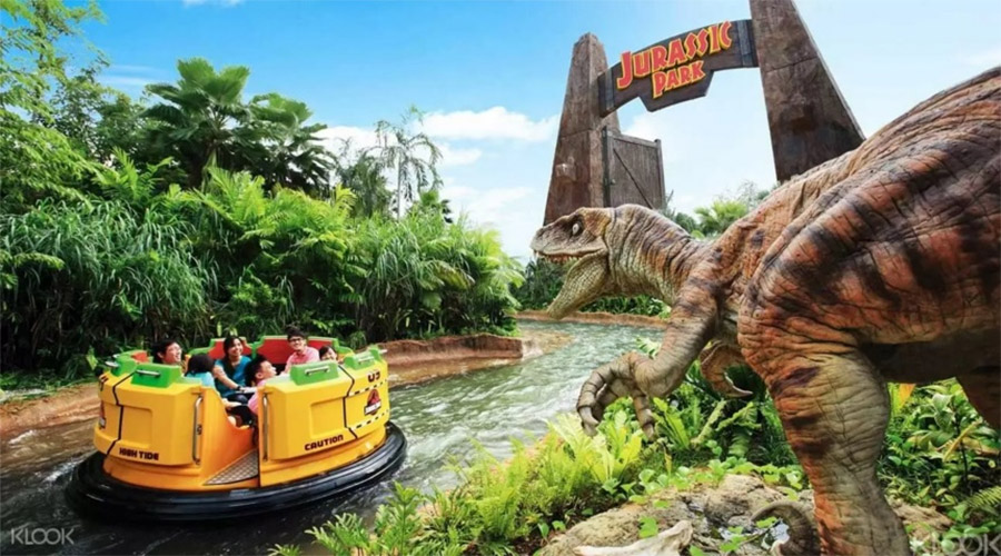 Jurassic Park Rapids Adventure (The Lost World - Universal Studios Singapore)