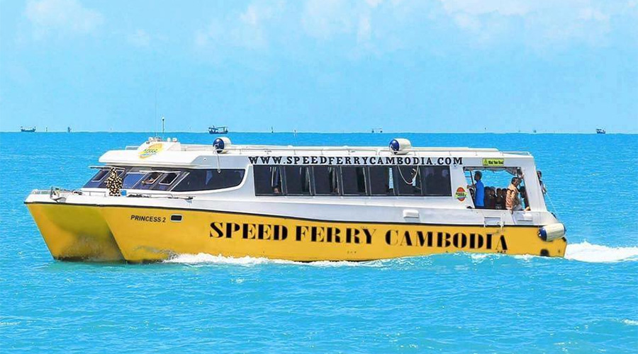 Koh Rong speed ferry
