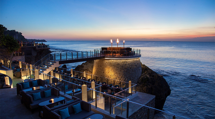The Rock Bar Uluwatu, Bali