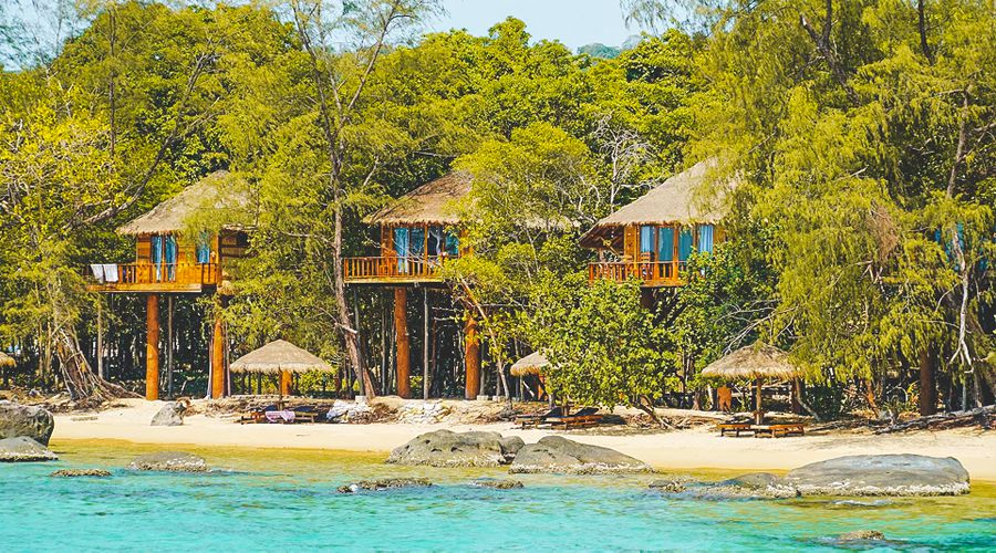 Treehouse Bungalows ở Koh Rong