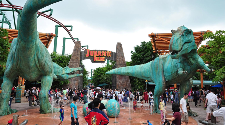 The Lost World ở Universal Studios Singapore