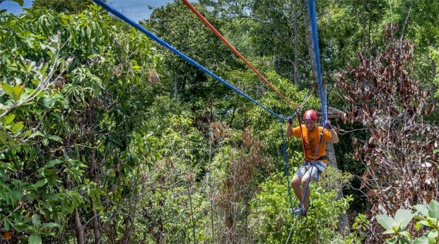 Zip Line / Rope Park Koh Rong Campuchia