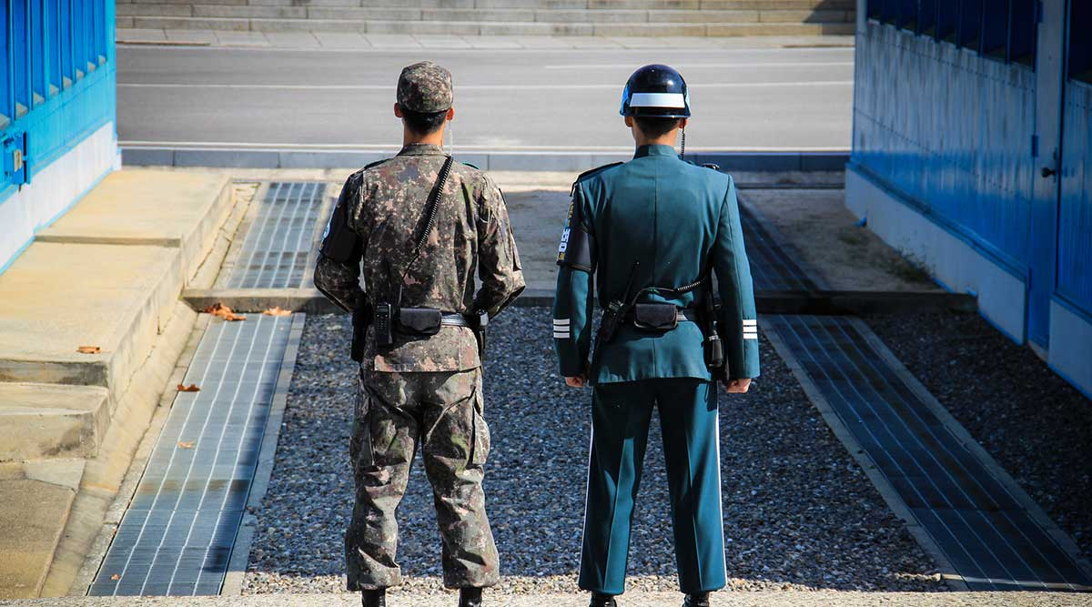 Joint Security Area DMZ Hàn Quốc
