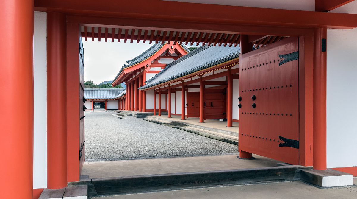 Cung điện hoàng gia Kyoto Imperial Palace